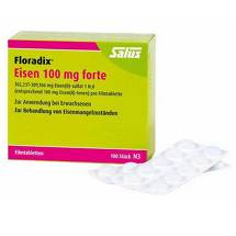 Produktbild Floradix Eisen 100 mg forte Filmtabletten