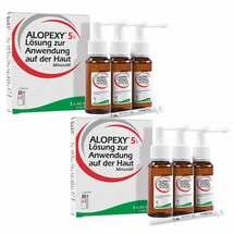 Produktbild Alopexy 5% Lösung, 2mal 3x60ml