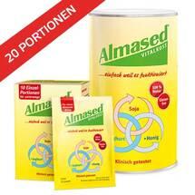 Produktbild Almased Vital-Pflanzen-Eiweißkost Bundle Dose plus Portionsbeutel