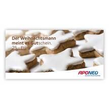 Produktbild Gutschein Weihnachten 25 Euro