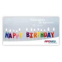 Produktbild Gutschein Geburtstag 25 Euro