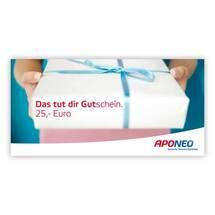 Gutschein Geschenk 25 Euro