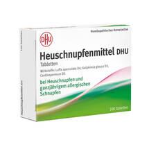 Produktbild Heuschnupfenmittel DHU Tabletten