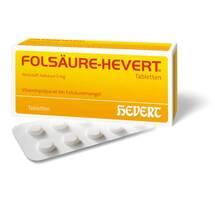 Produktbild Folsäure Hevert Tabletten