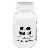 Produktbild Arginin / Ornithin Kapseln