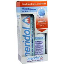 Meridol Zahnpasta Promotion Pack + 100ml Mundspülung