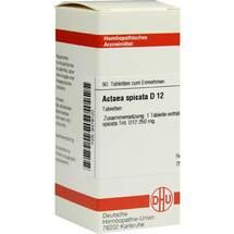 Produktbild Actaea spicata D 12 Tabletten