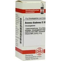 Produktbild Aranea diadema D 30 Globuli