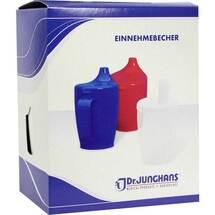 Produktbild Einnehmebecher mit Griff + Deckel 12mm weiß