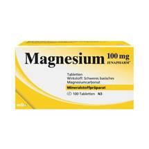 Produktbild Magnesium 100 mg Jenapharm Tabletten