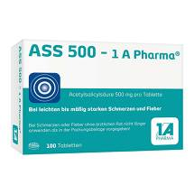 ASS 500 1A Pharma Tabletten
