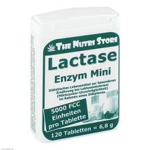 Lactase 5000 FCC Enzym Mini Tabletten im Dosierspender