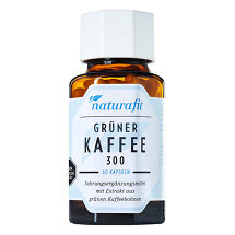 Produktbild Naturafit Grüner Kaffee 300 Extrakt Kapseln