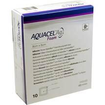 Aquacel Ag Foam adhäsiv 8x8cm Verband