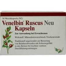Produktbild Venelbin Ruscus Neu Kapseln