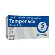 Sterile Calcium-Natrium-Alginat Tamponade 2,5x30cm