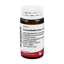 Produktbild Chamomilla / Nicotiana Globuli