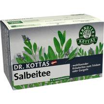 Produktbild Dr. Kottas Salbeitee Filterbeutel