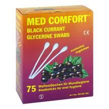 Produktbild Mundpflegestäbchen schwarze Johannisbeere