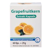 Produktbild Grapefruit Kern Extrakt Kaps