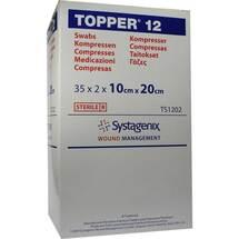 Topper 12 Kompresse steril 10x20 cm