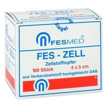Produktbild Zellstofftupfer Fes Zell 4x5