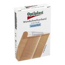 Produktbild Optiplast Wundschnellverband wasserfest 6 cm x 1 m