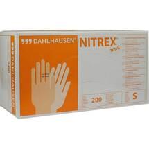 Produktbild Nitril Handschuhe ungepudert Größe S