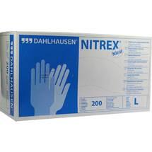 Produktbild Nitril Handschuhe ungepudert Größe L