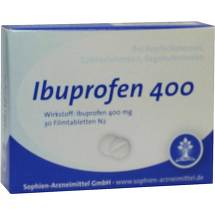 Produktbild Ibuprofen Sophien 400 Filmtabletten