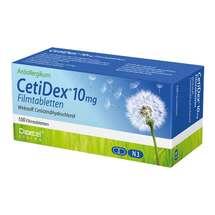 Produktbild Cetidex 10 mg Filmtabletten