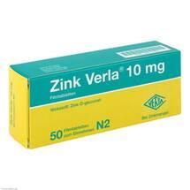 Produktbild Zink Verla 10 mg Filmtabletten