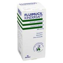 Produktbild Fluimucil Kindersaft