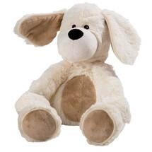 Produktbild Wärme Stofftier Beddy B. Hund sitzend beige
