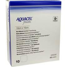 Produktbild Aquacel Foam nicht adhäsiv 10x10 cm Verband