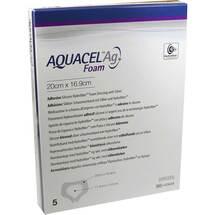 Aquacel Ag Foam adhäsiv Sakral 20x16,9cm Verband