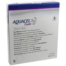 Produktbild Aquacel Ag Foam nicht adhäsiv 15x15cm Verband