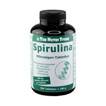 Spirulina 400 mg Tabletten