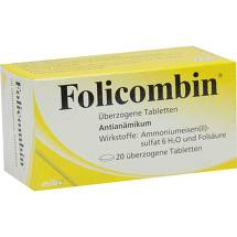Produktbild Folicombin überzogene Tabletten