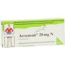 Produktbild Aescusan 20 mg N Filmtabletten