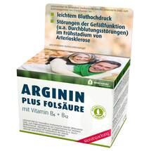 Produktbild Arginin Plus Folsäure Kapseln