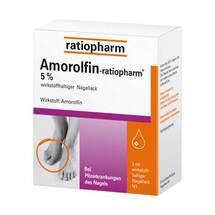 Produktbild Amorolfin ratiopharm 5% wirkstoffhaltig.Nagellack