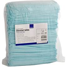 Produktbild Zahnarzt Lätze 41x45 cm blau