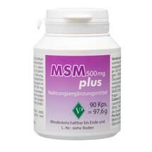 Produktbild MSM 500 mg plus Kapseln
