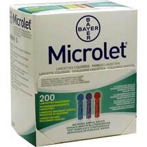 Produktbild Microlet Lanzetten farbig