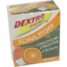 Produktbild Dextro Energy Schulstoff Orange Täfelchen