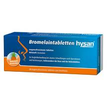 Produktbild Bromelain Tabletten hysan magensaftresistent Tabletten