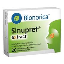 Produktbild Sinupret extract überzogene Tabletten