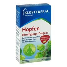 Produktbild Klosterfrau Hopfen Beruhigungsdragees Nervenruh