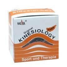 Produktbild Nasara Kinesio Tape 5 cm x 5 m beige inkl.Spenderbox